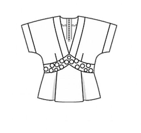 Блузка Карандашом